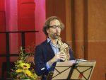 Konzert zur Bachwoche mit dem Saxophonisten Christian Elin